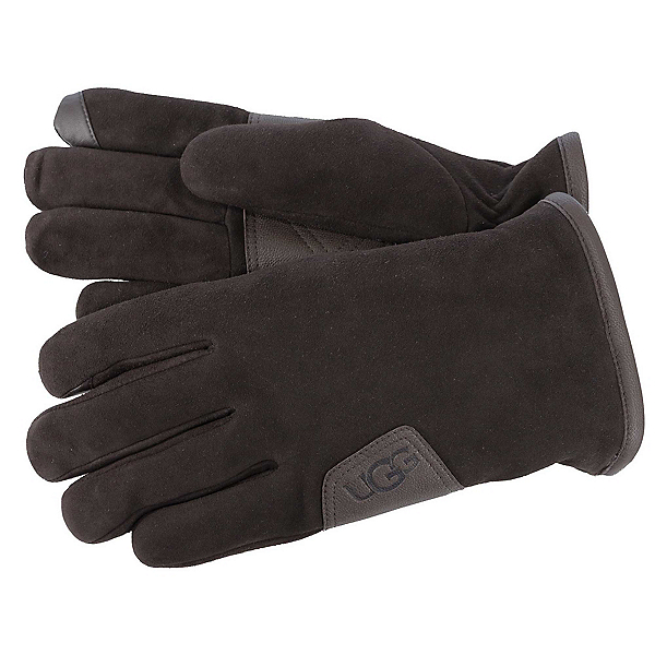 UGG Suede Touch Mens Gloves, Brown, 600