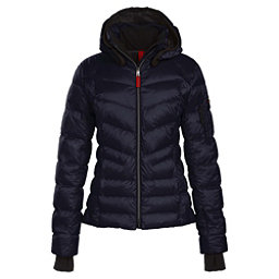 Bogner Fire + Ice Malina Down Womens Insulated Ski Jacket, Navy, 256