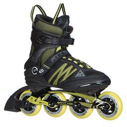 K2 F.I.T. Pro 84 Inline Skates 2017, Black-Yellow, 256