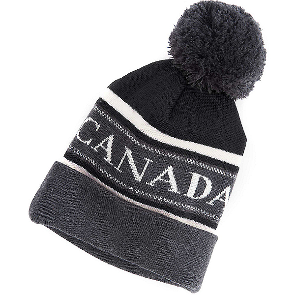 ded5ea8b24e Canada Goose Merino Logo Pom Hat 2017