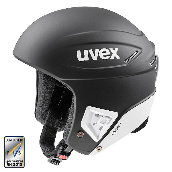 Uvex Race + Helmet 2020, Black-White Matte, 600