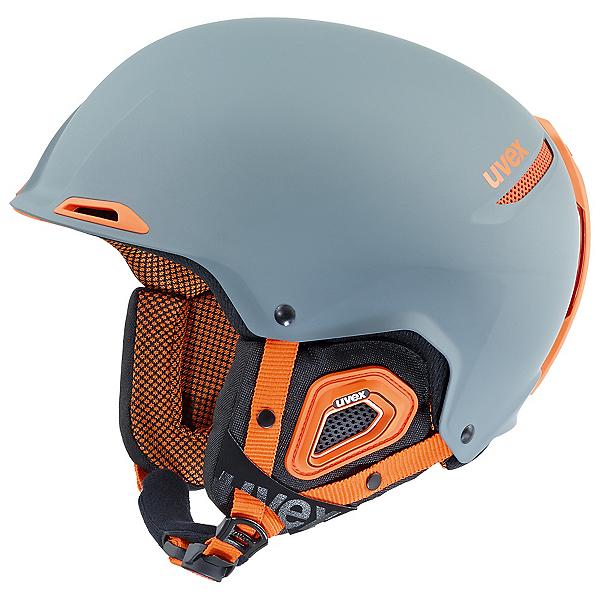 Uvex Jakk + Helmet, Grey-Orange Mat, 600