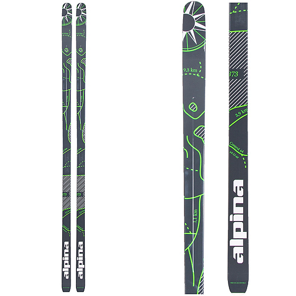 Alpina Control 64 Cross Country Skis, , 600