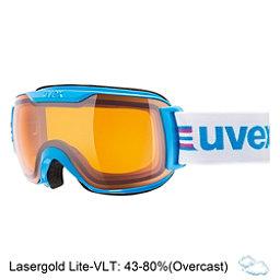 Uvex Downhill 2000 S Race Goggles, Cyan-Pink-Lasergold Lite, 256