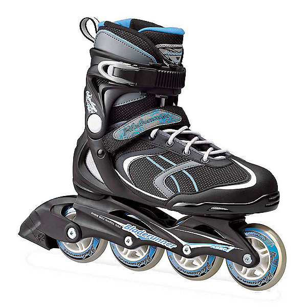 Bladerunner Advantage Pro XT Womens Inline Skates 2018, Black-Light Blue, 600