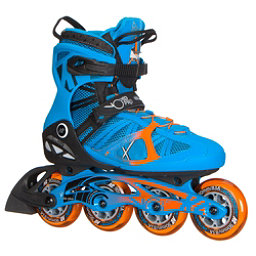 K2 VO2 90 Pro Inline Skates 2017, Blue-Orange, 256