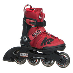 K2 Raider Pro Adjustable Kids Inline Skates 2018, Red, 256