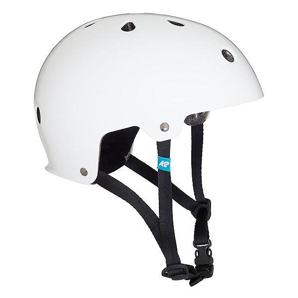 K2 Varsity Mens Skate Helmet, White, 600
