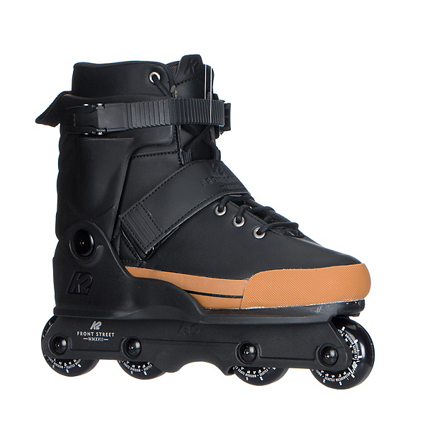 K2 Front Street Aggressive Skates 2018, Black-Gold, 600