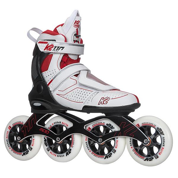 K2 Mod 110 Inline Skates, White-Red, 600