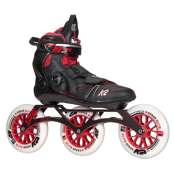 K2 Mod 125 Inline Skates, Black-Red, 600