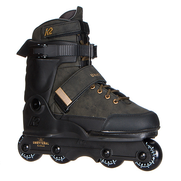 K2 Unnatural Aggressive Skates 2018, Olive, 600