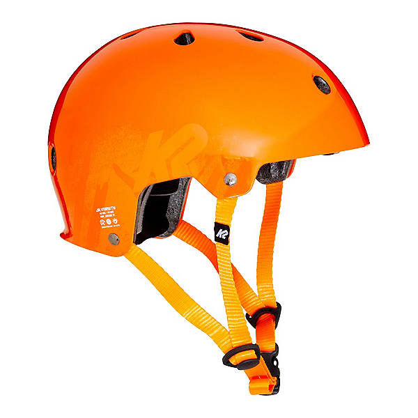 K2 Jr Varsity Boys Skate Helmet 2017, Orange, 600