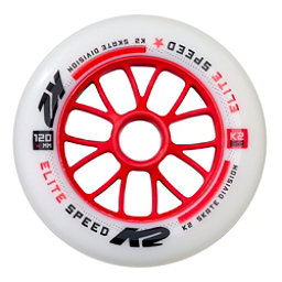 K2 Elite 120mm 85A Inline Skate Wheels 2017, , 256