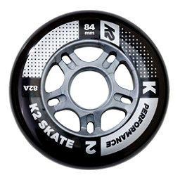 K2 Performance 84mm 82A Inline Skate Wheels - 4 Pack 2018, , 256