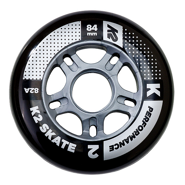K2 Performance 84mm 82A Inline Skate Wheels - 4 Pack 2018, , 600