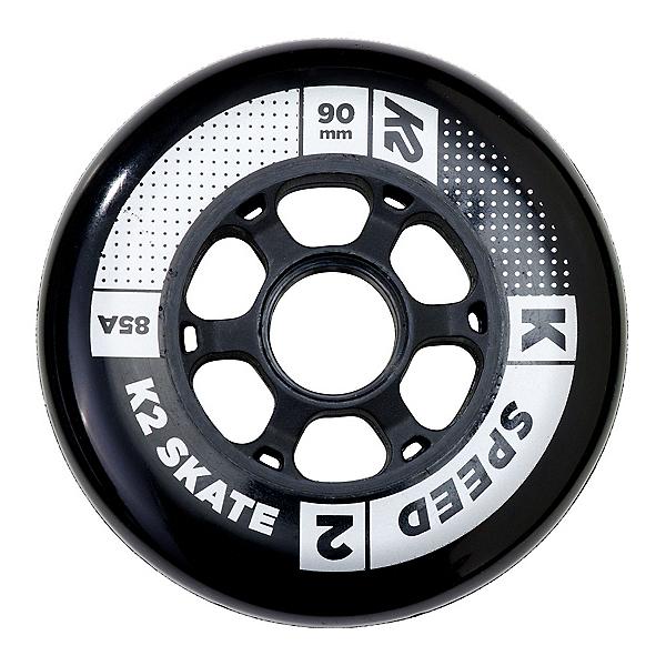 K2 Speed 90mm 85A Inline Skate Wheels - 4 Pack 2018, , 600