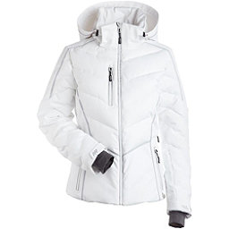 NILS Florence Womens Insulated Ski Jacket, White-Silver, 256