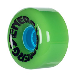 Riedell Energy Roller Skate Wheels 2017, Lime, 256