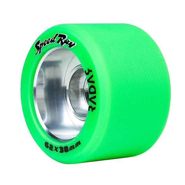 Riedell Speed Ray - 4 Pack Roller Skate Wheels, , 600