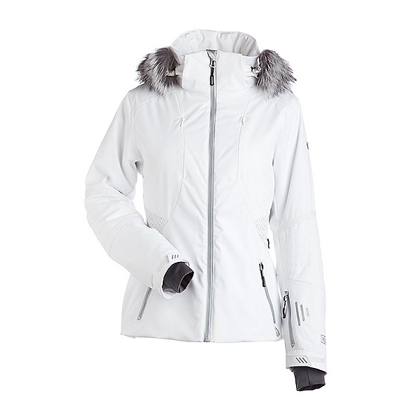 NILS Dakota Special Edition Fur Womens Insulated Ski Jacket, , 600