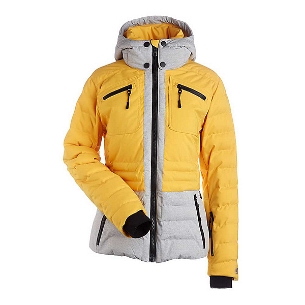 NILS Brook Womens Insulated Ski Jacket, Cornsilk-Light Texture, 600