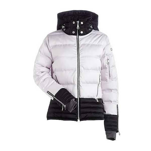 NILS Liv Womens Insulated Ski Jacket, Shadow-Black, 600