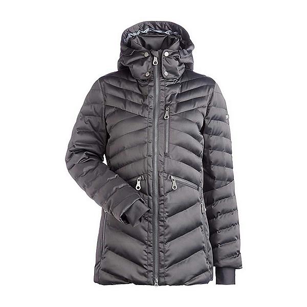 NILS Raina Womens Insulated Ski Jacket, Pewter, 600