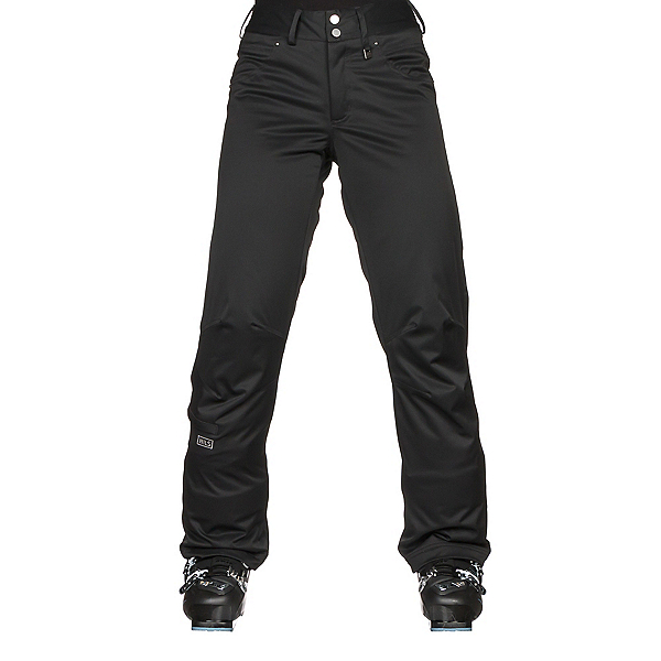 NILS Barbara Womens Ski Pants, Black, 600