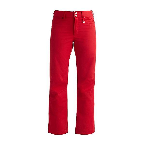 NILS Barbara Womens Ski Pants, Red, 600