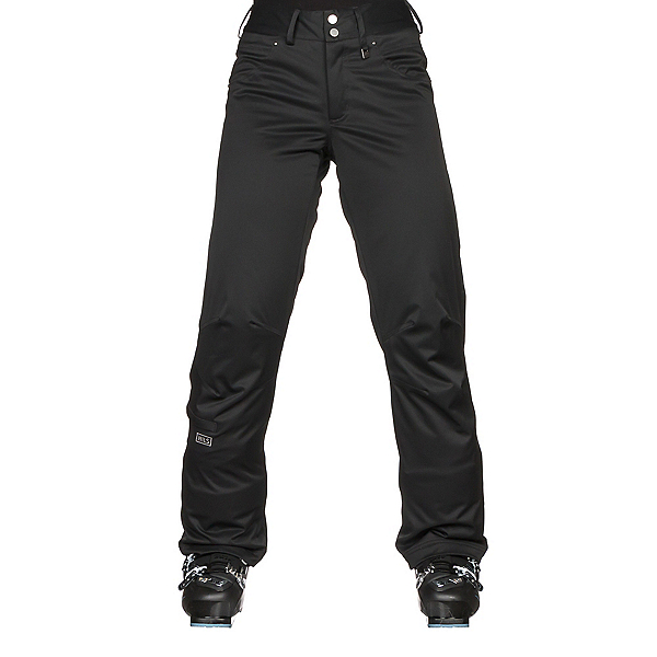 NILS Barbara Petite Womens Ski Pants, Black, 600