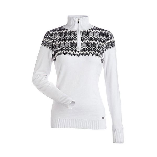 NILS Agy Womens Sweater, White-Pewter-Black-Silver-Almo, 600
