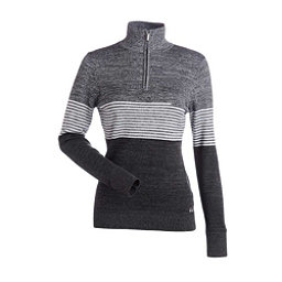 NILS Riley Womens Sweater, Black-Pewter-White, 256