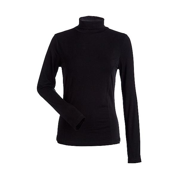 NILS Danielle Womens Long Underwear Top, Black, 600