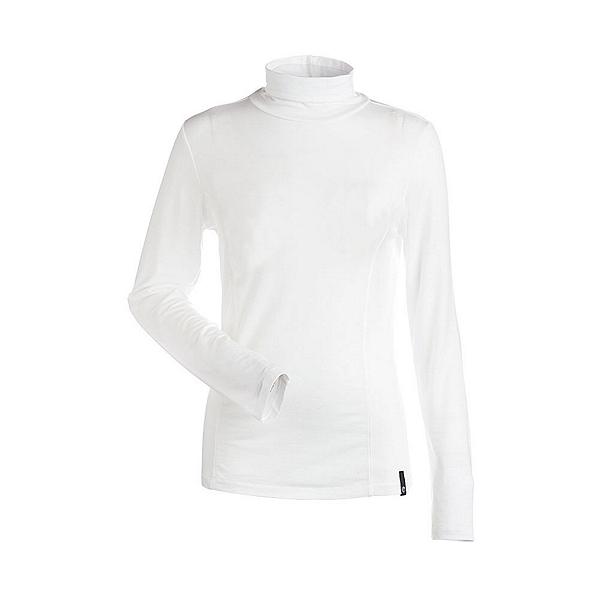 NILS Danielle Womens Long Underwear Top, White, 600