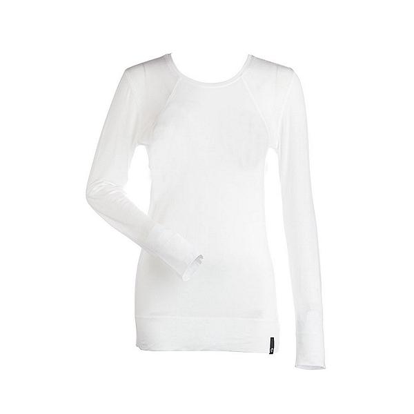 NILS Erica Womens Long Underwear Top, White, 600