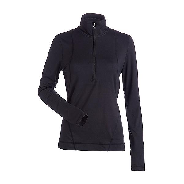 NILS Brooklyn Womens Long Underwear Top, Black, 600