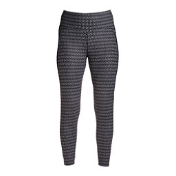 NILS Jenni Special Edition Leggings Womens Long Underwear Pants, Black-White Velocity Print, 256