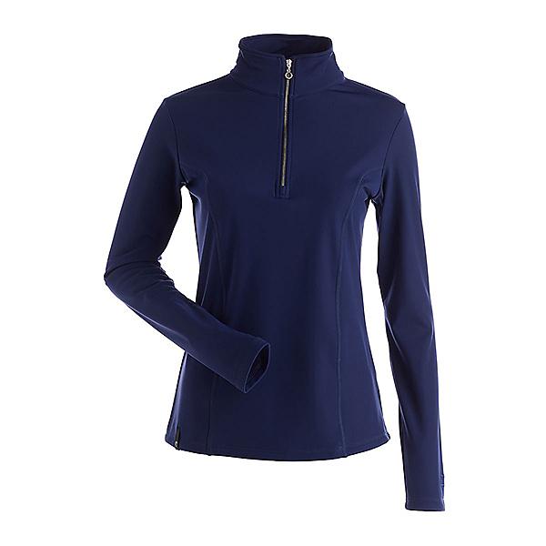 NILS Robin Womens Long Underwear Top, Navy, 600