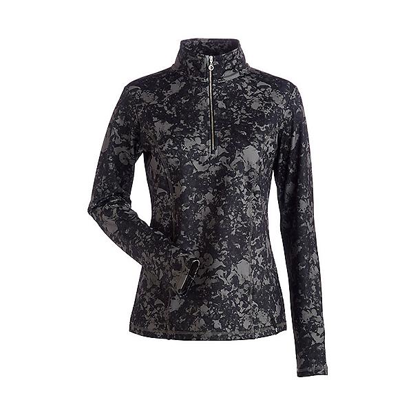 NILS Robin Print Womens Long Underwear Top, Almondine Winter Winds Print, 600