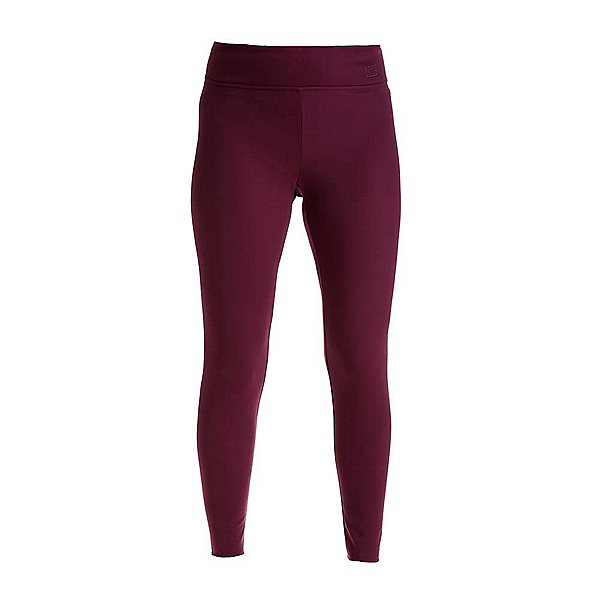 NILS Lindsay Leggings Womens Long Underwear Pants, Merlot, 600