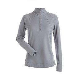 NILS Cheri Womens Long Underwear Top, Steel Grey, 256