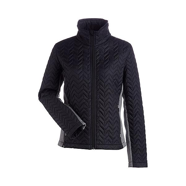 NILS Ellese Womens Jacket, Black-Charcoal, 600