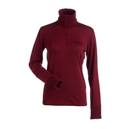 NILS Holly Womens Long Underwear Top, Cranberry, 256