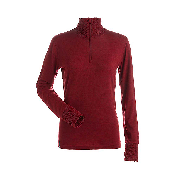 NILS Holly Womens Long Underwear Top 2019, Red, 600
