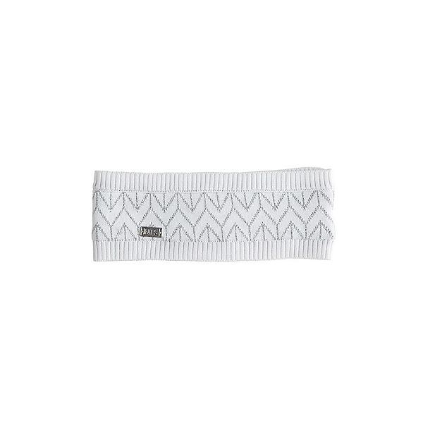 NILS Molly Womens Headband, White-Metallic Silver, 600