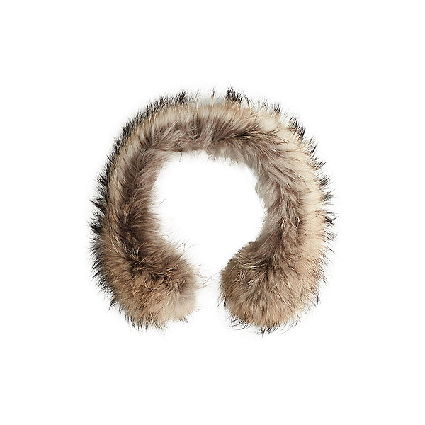 NILS Real Fur Hood Attachment, Finn Raccoon, 600