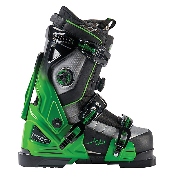 Apex XP Ski Boots, Green-Black, 600