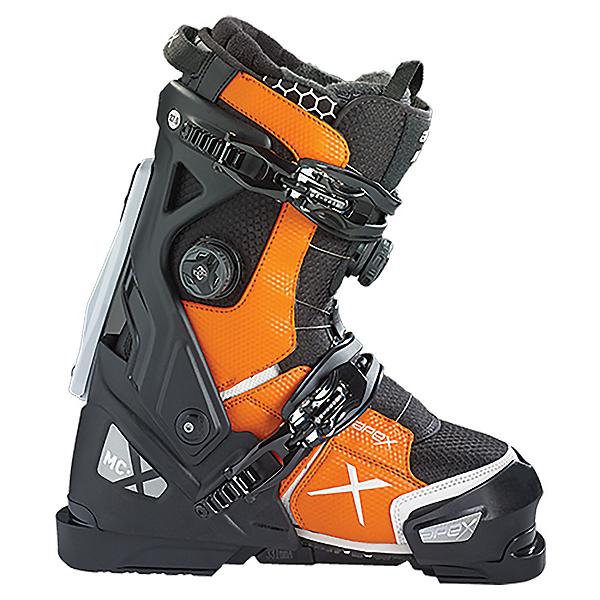 Apex MC-X Ski Boots, Black-Orange, 600
