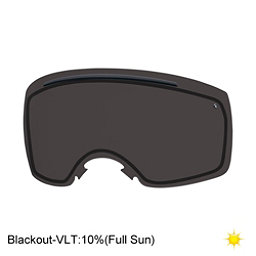 Smith I/O7 Replacement Lens Goggle Replacement Lens, Blackout, 256